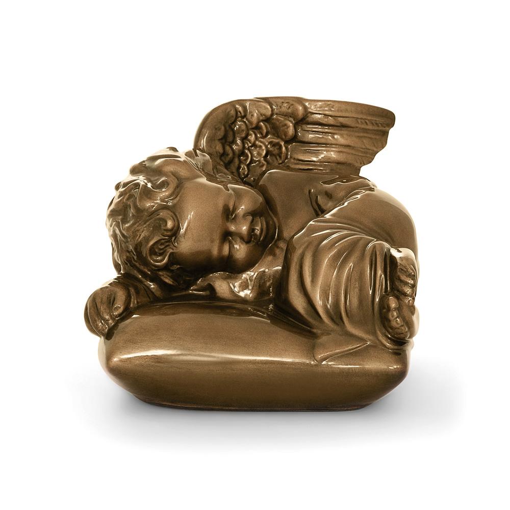 Rzeźba nagrobna Śpiący aniołek na podusi L