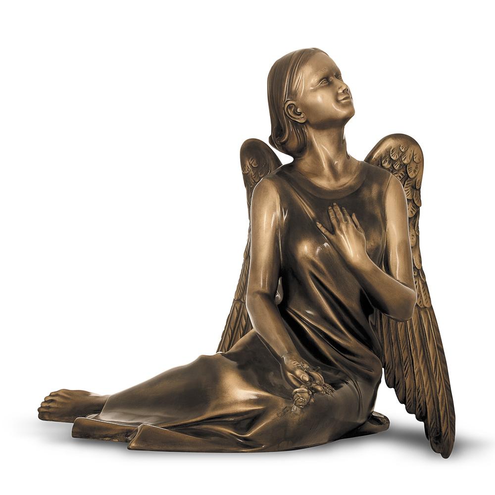 Rzeźba nagrobna Siedzący Anioł
