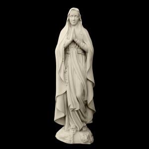 Rzeźba nagrobna Matka Boża Niepokalana z Lourdes