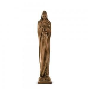 Rzeźba nagrobna Matka Boża Niepokalana