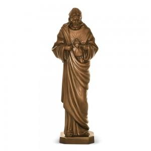 Rzeźba nagrobna Najświętsze Serce Pana Jezusa