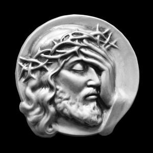 Płaskorzeźba Chrystus Cierpiący