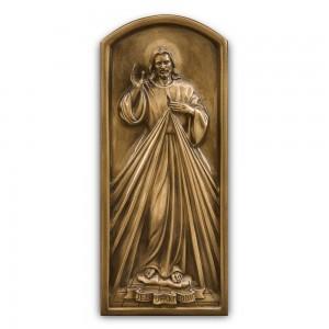 Rzeźba nagrobna Płaskorzeźba Chrystus Miłosierny
