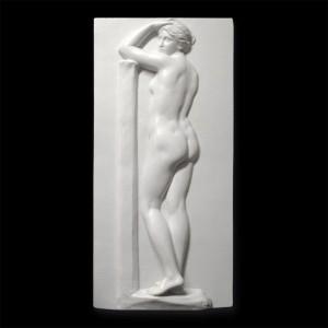Rzeźba dekoracyjna Płaskorzeźba Akt 1