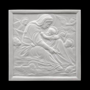 Rzeźba nagrobna Płaskorzeźba wg Donatella