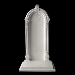 Rzeźba nagrobna Portal ze stopniem