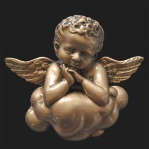 Rzeźba nagrobna Płaskorzeźba Aniołek na chmurce
