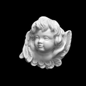 Rzeźba nagrobna Płaskorzeźba Aniołek bliźniak P