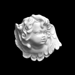 Rzeźba nagrobna Płaskorzeźba Aniołek bliźniak L