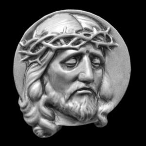 Rzeźba nagrobna Płaskorzeźba Chrystus Cierpiący
