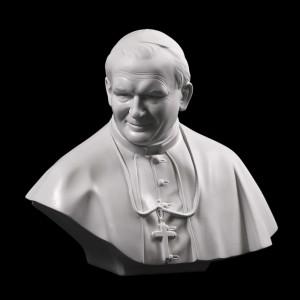 Rzeźba sakralna Popiersie św. Jan Paweł II